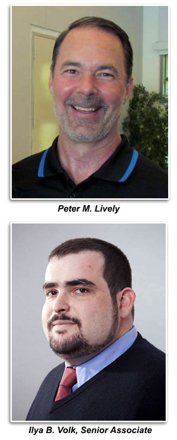 Peter M Lively and Ilya Volk